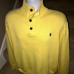 Polo by Ralph Lauren warm men's cotton sweater XL